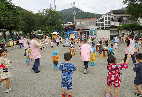 納涼会(踊り)